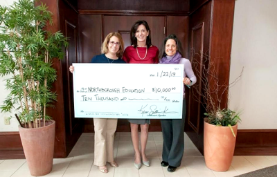 2019 NEF Big Check SullivanKreissFinancial